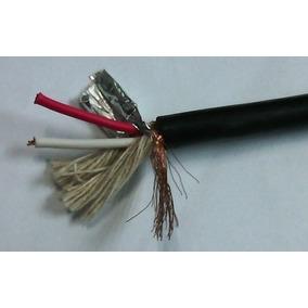 Cable De Micrófono Stereo-b/k Por Metro Rmcs426 Profesional