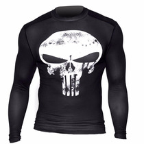 Playera Under Armour Original- Punisher Ironman Marvel Lycra