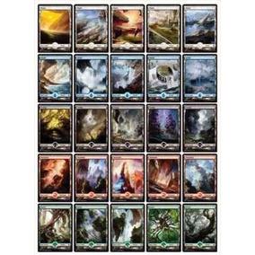 Terrenos Básicos Full Art - Mtg - Batalha Por Zendikar Magic