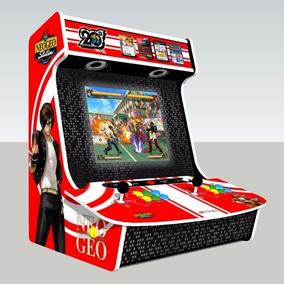 Planta De Corte Arcade Fliperama Bartop Neo Geo-envio Gratis
