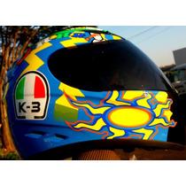 Capacete Valentino Rossi Relogio Monster 46