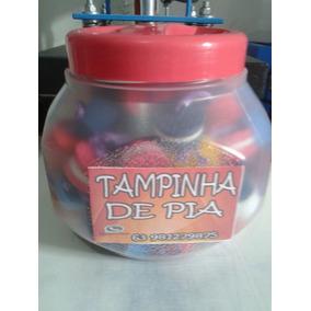 Tampinha De Pia De Tanque Pote Com 100 Und.