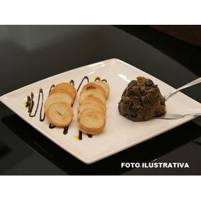 Prato Quadrado Melamina Buffet Sobremesa Festa Entrada 6 Un
