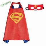 Disfraz Niño Superman Halloween Fiesta Antifaz + Capa