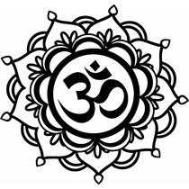 Mandala Om Vinilo Decorativo