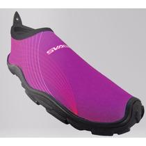 Zapato Acuatico Svago Modelo Cozumel Color Morado