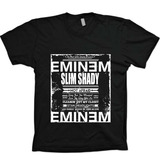 Camisetas Hip Hop Rap Shady - Eminem - 100% Algodão!