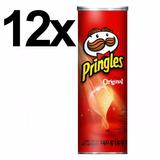 Batata Pringles Original 121gr Caixa Com 12 Unids Atacado At