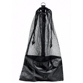 Bolsa Para Buceo Mesh Bag Draw String W/ Shoulder Strap