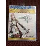 Final Fantasy Xiii Ps3 Nuevo Y Sellado