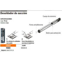 Extractor De Soldadura / Desoldador Para Electronica Truper