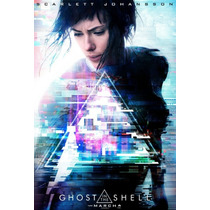 Poster Cine Original Ghost In The Shell / Clasico Anime