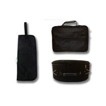 Kit 3 Peças: Caixa 14x 5,5 + Pedal Simples + Porta Baquetas