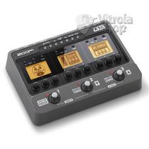 Pedaleira Guitarra Zoom G3 Simulador Amp + Fonte Original