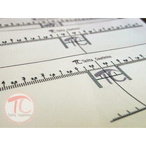 Régua T - Design Sobrancelhas Simétrico - Talita Coutinho