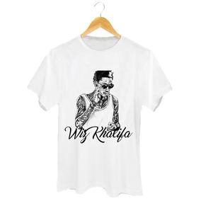 Camiseta Wiz Khalifa - Rapper - Rap - Taylor Gang - Boyz