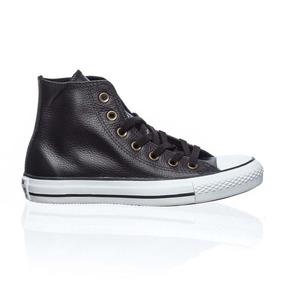 Zapatillas Converse Chuck Taylor All Star Leather Hi Negro