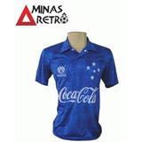 Camisa Finta Cruzeiro Retrô Réplica