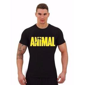 Camiseta Manga Curta - Animal Gym Academia - A Melhor!