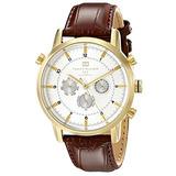 Tommy Hilfiger Hombre 1790874 Reloj De Oro Con Pulsera De Cu
