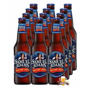 Caixa 12 Cerveja Samuel Adams Boston Lager 355ml - Eua