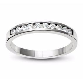 Churumbela Oro Blanco 14kt Con Diamante Ruso Ch060-14-cz