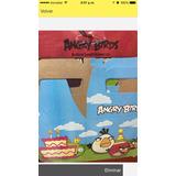 Cajitas De Cartón (6) De Angry Birds Para Cotillón Fiestas