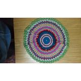 Centro De Mesa Tejido Al Crochet