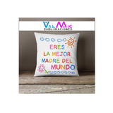 Regalo Dia De La Madre, Almohadon 40x40 Personalizado