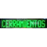 Cartel Letrero Led Gigante De Letras Pasantes 160 X 30 Cm