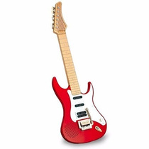 Guitarra Eletronica Infantil - Vermelha -dtc
