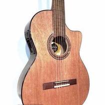 Guitarra Clasica Romantica J1 Con Corte Y Ecualizador
