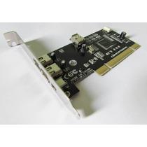 Placa Pci Firewire Chipset Texas P/ Profire 2626 Digi Som