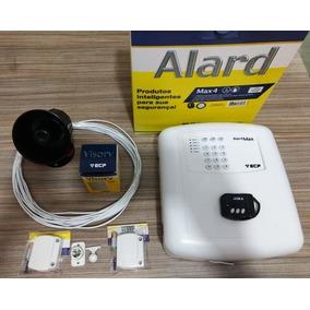 Kit Alarme Ecp Com Sensor Pet 20kg E Sirene Corneta