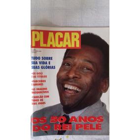 Revista Placar - Pelé - 50 Anos