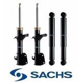 Fiat Siena Kit 4 Amortiguadores Sachs + Espirales Delant Rm