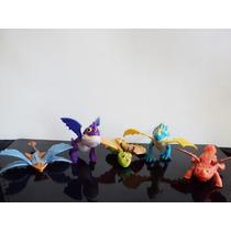 Coleção Lote 5 Bonecos Como Treinar Seu Dragão Mc Donalds