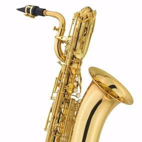 Sax Barítono Jupiter Jbs-1000 Laqueado Profissional