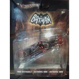 Batman Batimóvil Hot Wheels 1:50 S4 1966 Tv Series Batmbile