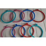 Bastidores Para Bordado Plásticos De Colores Nº20cm