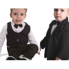Traje Bebes Pantalon Chaleco Saco