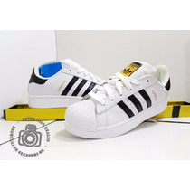 Adidas Superstar Concha Adicolor Blanco Negro