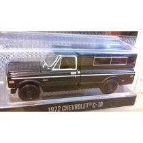 Chevrolet 1972 C10 Black Bandit Greenlight
