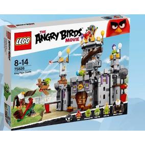Lego Angry Birds 75826 Castillo De Rey Cerdo Entrega Metepec