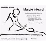 Masaje Integral; Consultorio/empresas/corporativo/formación