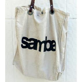 Bolsa Sacola Camurça Estilo Okslen Samba Verão Fashion