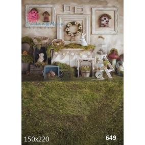 Fundos Fotográficos Páscoa / Malha 85,90 Cada
