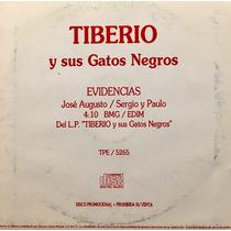 Cd Tiberio Y Sus Gatos Negros Jose Augusto Sergio Promo