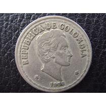 Colombia - Moneda De 20 Centavos, Año 1956 - Muy Bueno