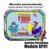 10 Marmitas Personalizadas / Marmita Alumínio Personalizada